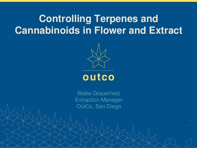 Controlling Terpenes and Cannabinoids in Flower & Extract