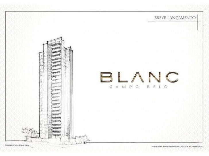 Blanc Campo Belo, aptos 185m2 e 251m2, alto padrão,