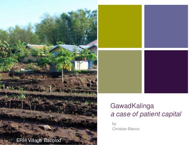 +                      GawadKalinga                      a case of patient capital                      by                ...
