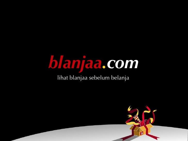 blanjaa.com  lihat blanjaa sebelum belanja