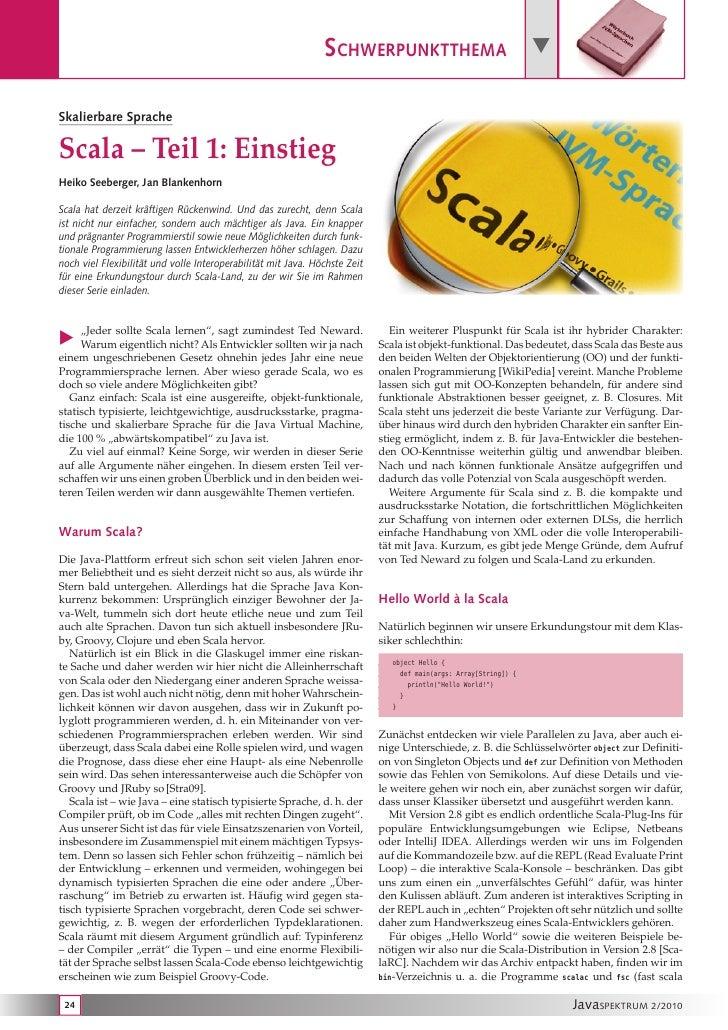 JavaSPEKTRUM - Scala 1