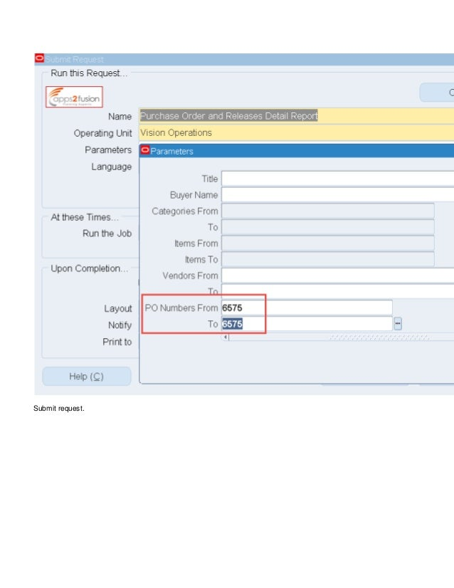 Blanket Purchase Agreement And Blanket Release In Oracle R