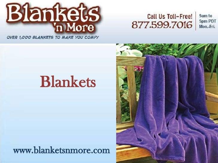Blanketswww.blanketsnmore.com