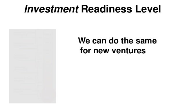 Investment Readiness: Levels 3 & 4 Problem / Solution Fit • Problem Solution fit • Low fidelity MVP Problem/Solution  Hypo...
