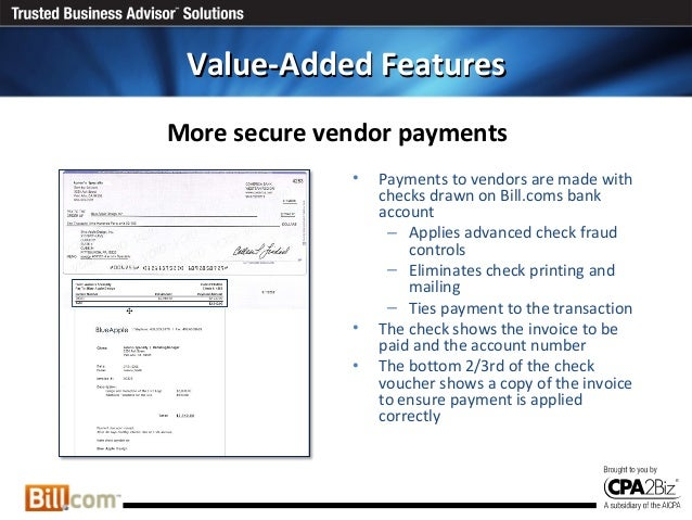 Online Bill Payment And Electronic Invoicing For QuickBooks Intacct - Quickbooks electronic invoicing