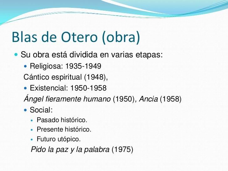 Blas De Otero Y Gabriel Celaya