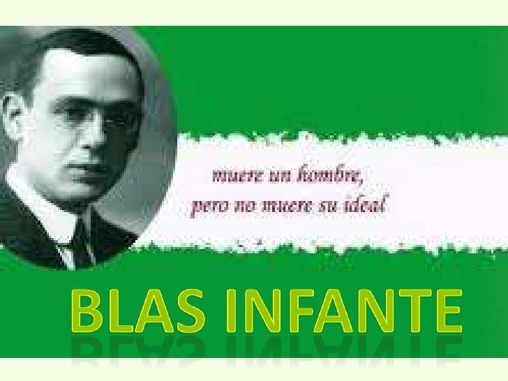 BLAS INFANTE<br />
