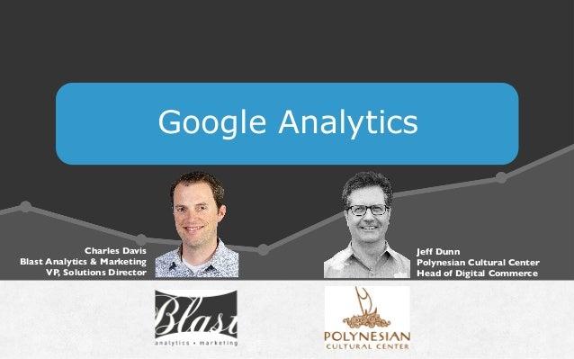 Google Analytics Charles Davis