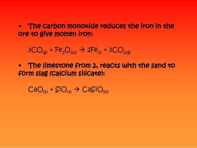 Calcium Silicate Slag : Blast furnace