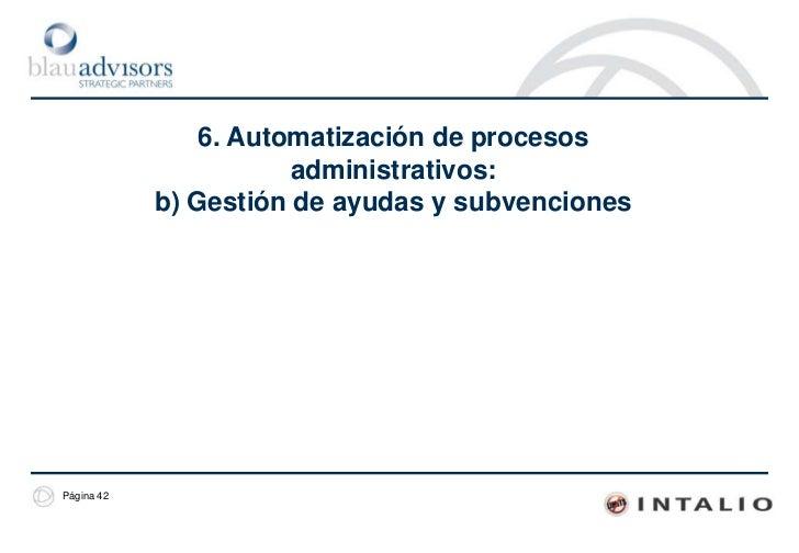 Demo. Prototipo de un proceso de gestión de trámitesLa visión del ciudadano. Implementación del proceso<br />La implementa...