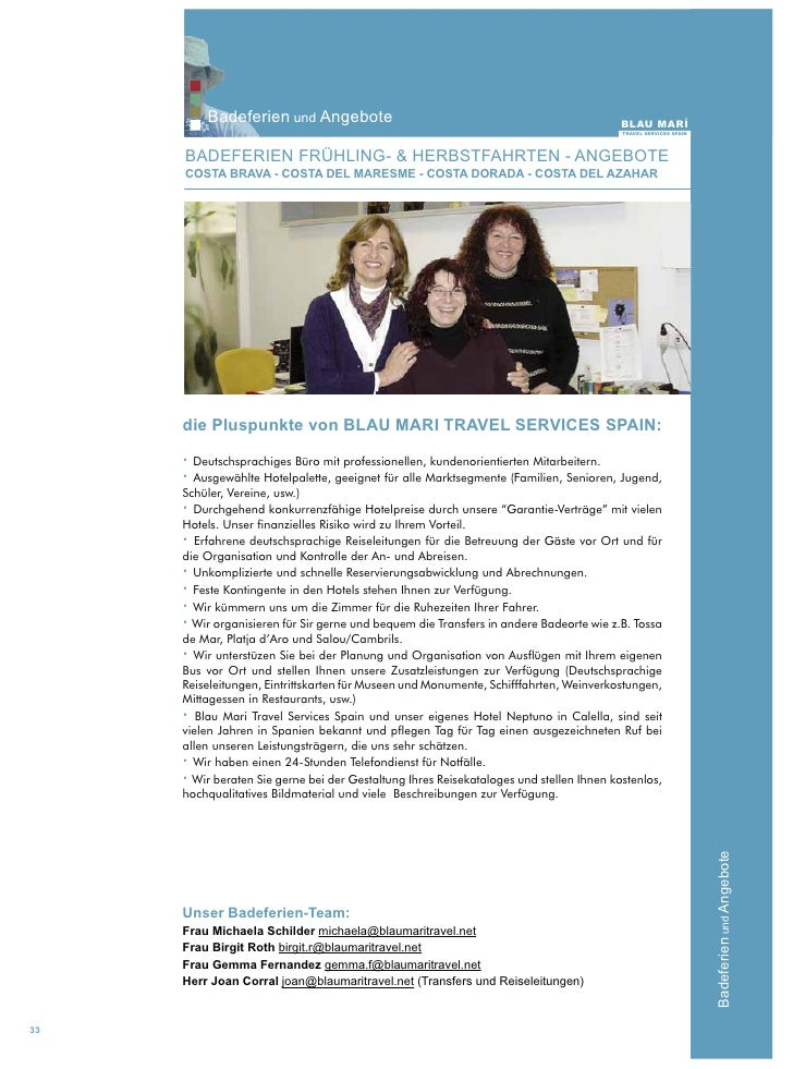 Blau maritravel agency 2011