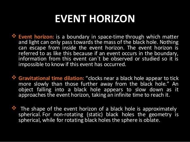 Black holes powerpoint