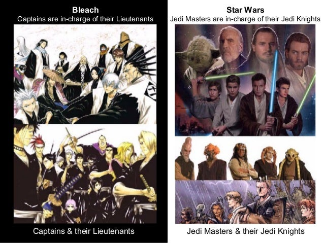 Bleach Anime Vs Star Wars