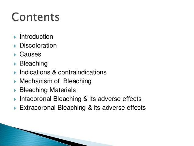 Bleaching of teeth Slide 3