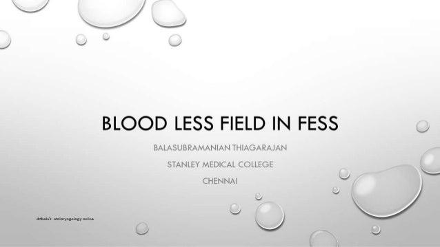 Reducing Bleeding fess