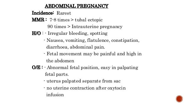 Bleeding in early pregnancy