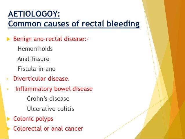Bleeding Per Rectum