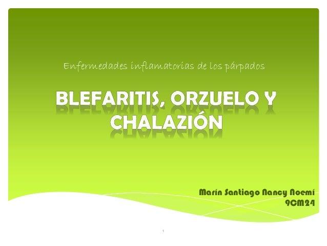 Enfermedades inflamatorias de los párpados Marín Santiago Nancy Noemí 9CM24 1