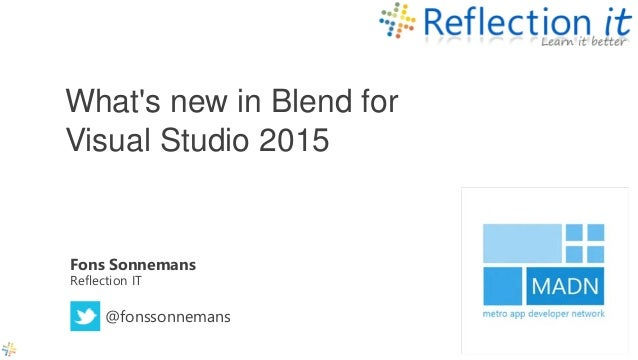 What's new in Blend for Visual Studio 2015