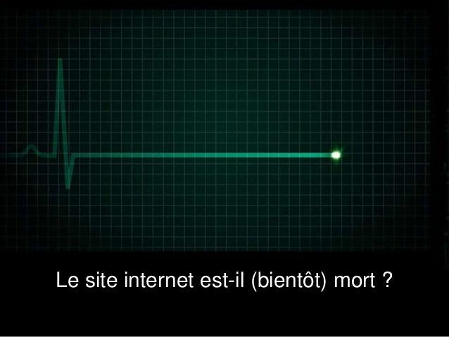 Le site internet est il bient t mort for Le site internet