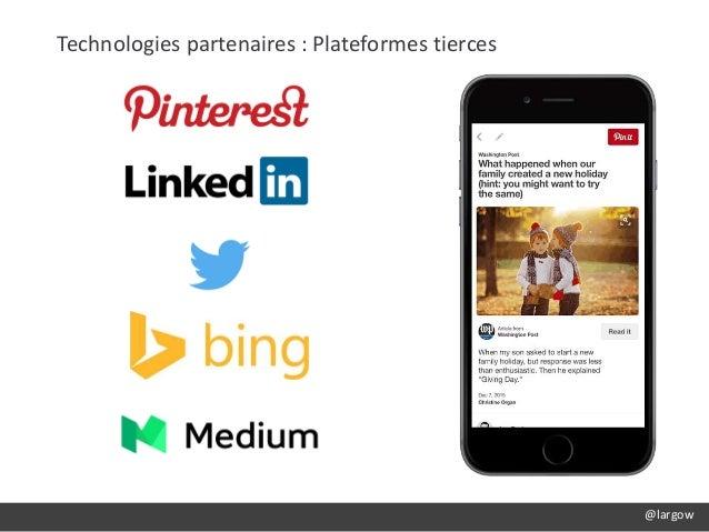 @largow Technologies partenaires : Plateformes tierces