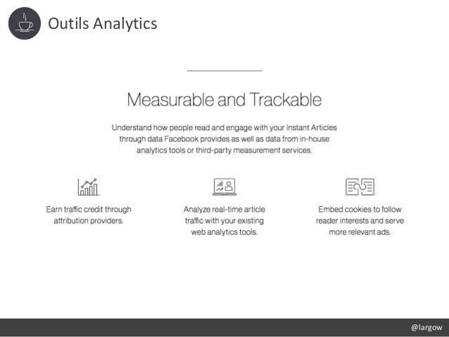 Outils Analytics @largow