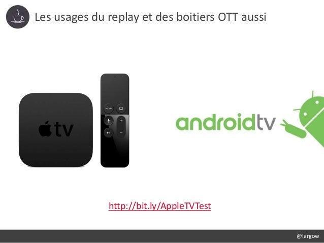 Les usages du replay et des boitiers OTT aussi @largow http://bit.ly/AppleTVTest