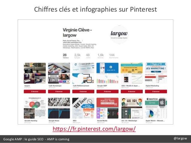 Google AMP : le guide SEO - AMP is coming @largow Chiffres clés et infographies sur Pinterest https://fr.pinterest.com/lar...