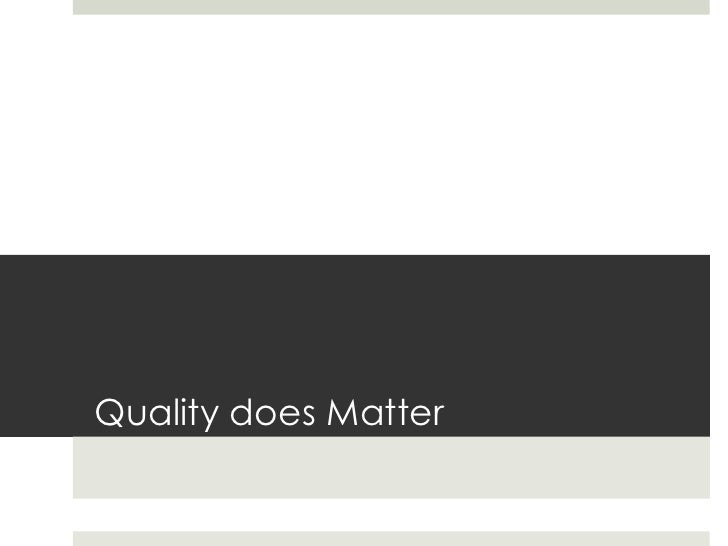 Online Quality AssuranceWhat it is                 What it covers A quality assurance       Course Overview &           ...