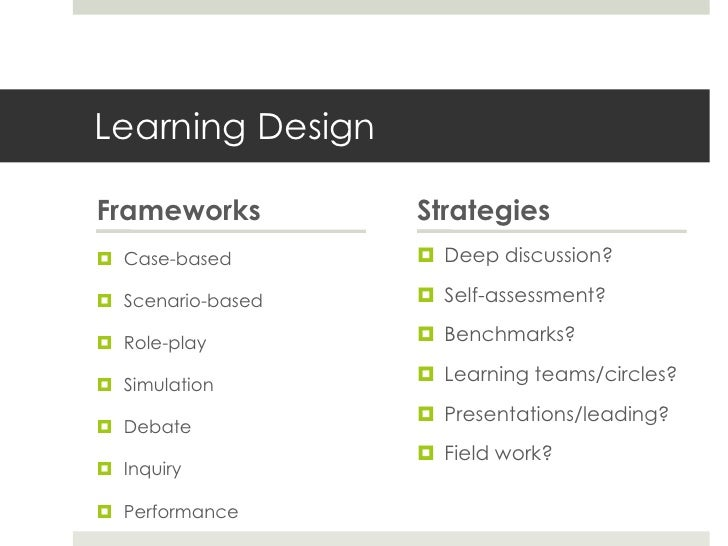 Varied InteractionDOING supports learning,particularly when learning                      Instructoroutside of a classroom...