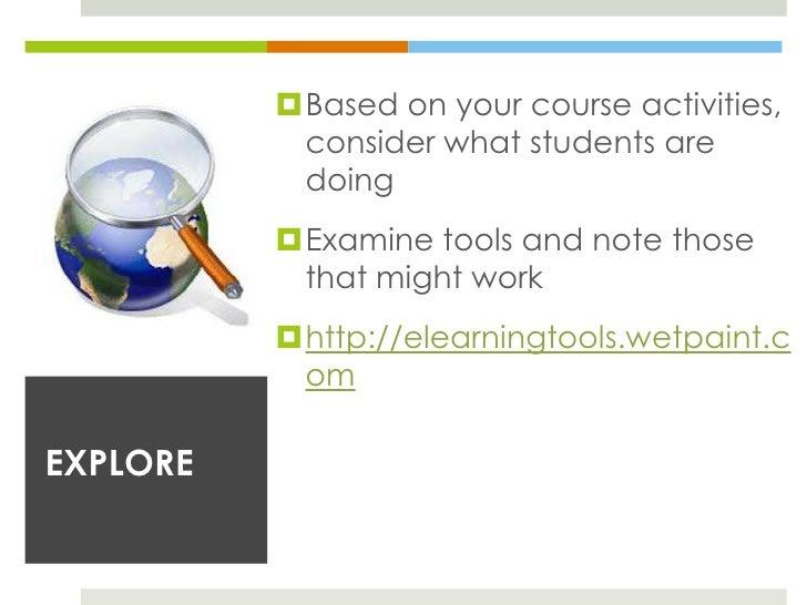 Processes                    Tools AttributesRemember     Recognizing, recalling       Visual/Text/Audio                  ...