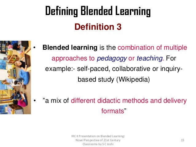 Collaborative Teaching Methods Pdf ~ Blended learning st century t l environment