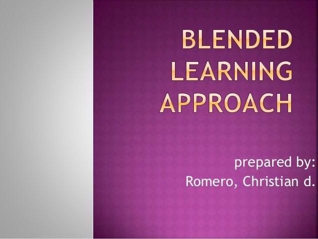 prepared by:  Romero, Christian d.