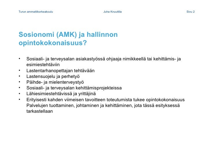 Blended Learning Juha Knuuttila 11032010 Slide 2