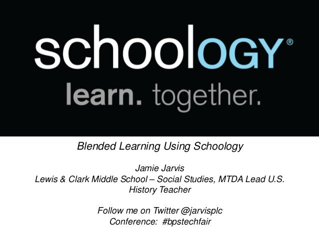 Blended learning using schoology blended learning using schoology jamie jarvis lewis clark middle school social studies stopboris Image collections