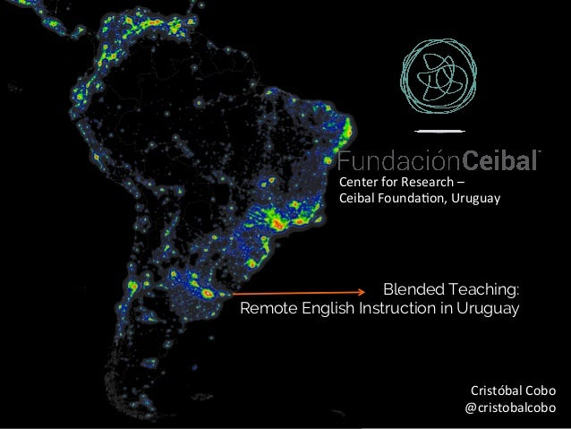 World	Atlas	of	the	Ar.ficial	Night	Sky	Brightness	(David	Lorenz)	 Blended Teaching: Remote English Instruction in Uruguay C...
