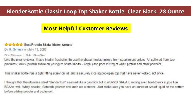 Blender bottle - blender bottle review - blender bottle sportmixer