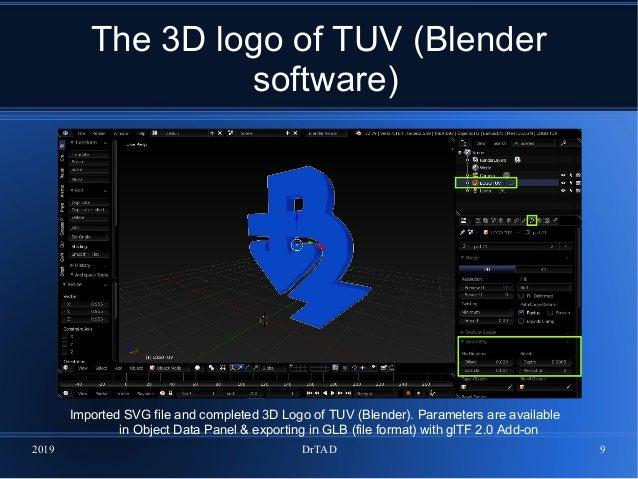 The interactive 3D logo of Technical University - Varna
