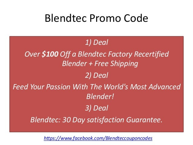 Blendtec Black Friday Deals Don't miss out on Black Friday discounts, sales, promo codes, coupons, and more from Blendtec! Check here for any early-bird specials and the official Blendtec sale.5/5(5).