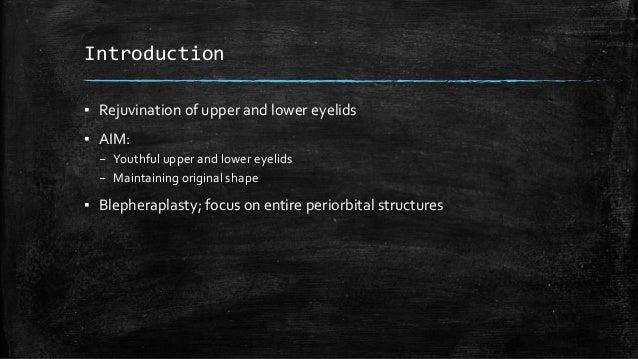 Blepharoplasty Slide 2