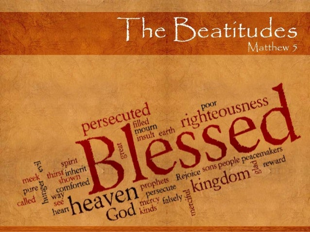 A Study of the Beatitudes St. J & B Presents:  Plus Wednesday Home Groups!  Sundays:  Feb. 2nd:  Blessed are the Poor In S...