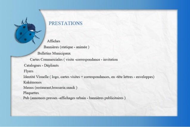 Bleucreationprésentation Slide 2