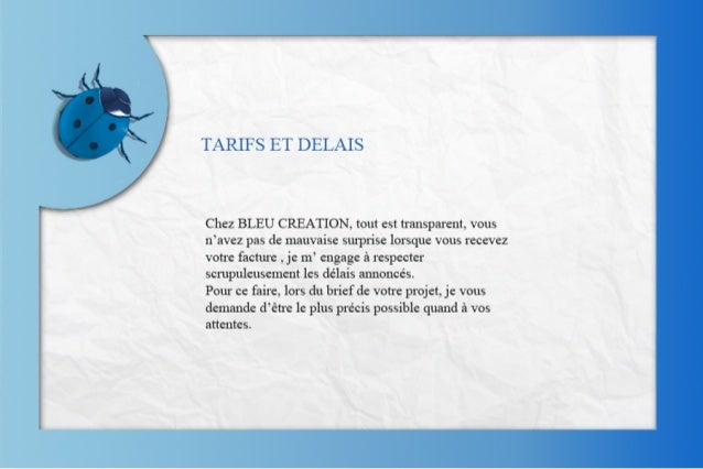 Bleucreationprésentation Slide 3