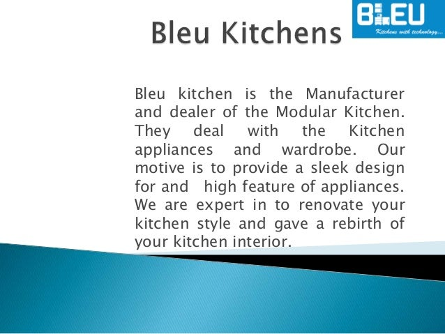 Modular Kitchen Appliances Manufacturer in Chandigarh