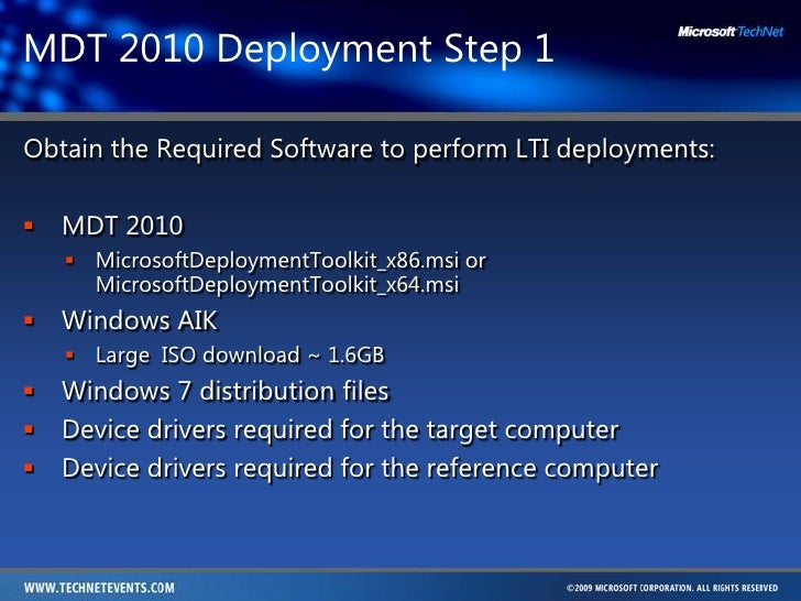 how to create a windows 7 system image for deployment