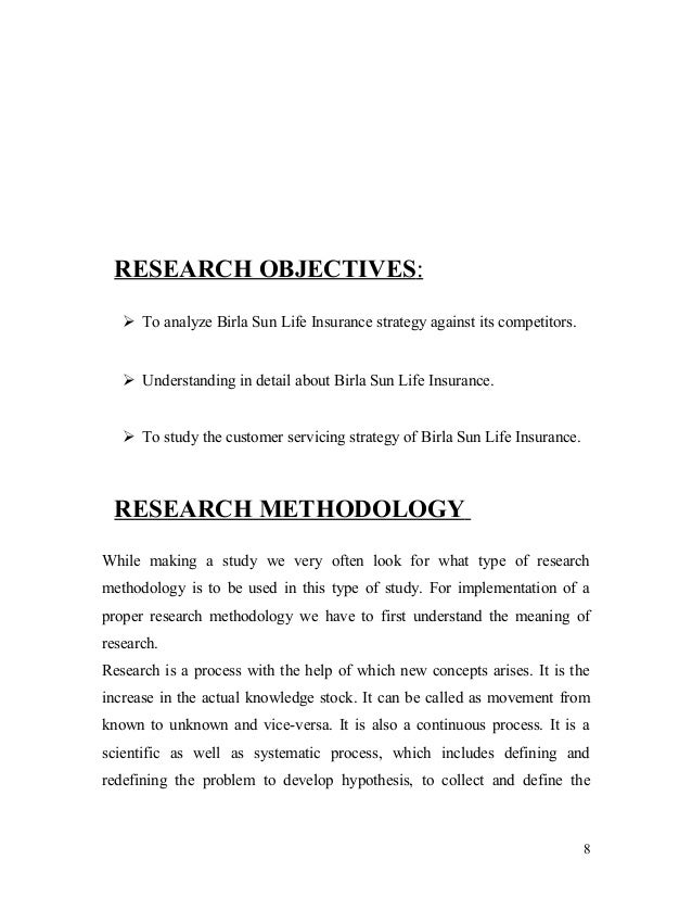 a study on birla sun life Mobien tech case study - bsli birla sun life insurance company limited ( bsli) is a joint venture between the aditya birla group,.