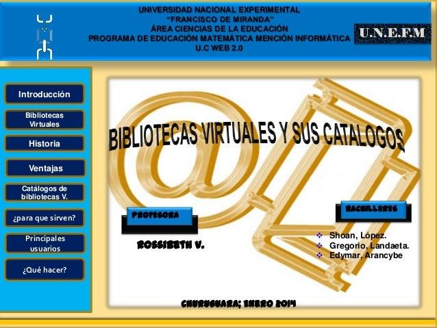 """UNIVERSIDAD NACIONAL EXPERIMENTAL """"FRANCISCO DE MIRANDA"""" ÁREA CIENCIAS DE LA EDUCACIÓN PROGRAMA DE EDUCACIÓN MATEMÁTICA ME..."""