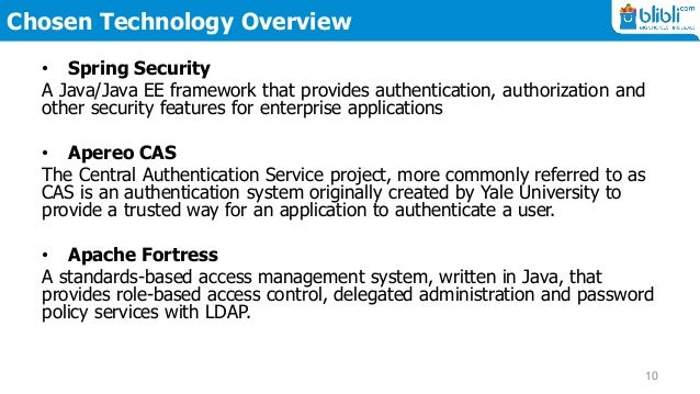 Blibli Web Application Security Policy Enforcement Point