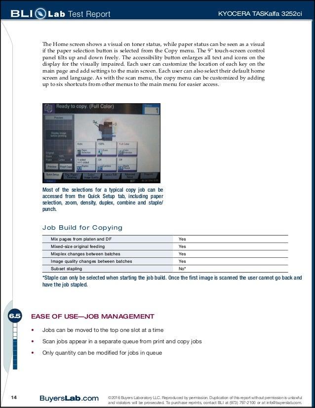 Kyocera Mac Job Accounting