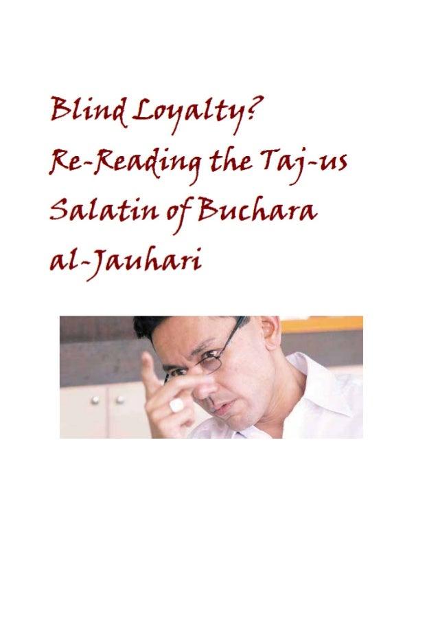 Blind Loyalty